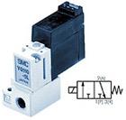 3/2 пневмораспределитель с прямым электромагнитным управлением VQ100