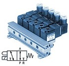 3/2 пневмораспределитель с прямым электромагнитным управлением VO307