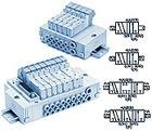 5/2, 5/3 пневмораспр., для монтажа на DIN рейке SY3000/5000