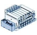 5/2 пневмораспределитель с электропневматическим управлением VQ2000/VQ1000