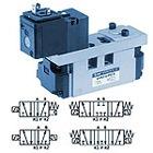 5/2, 5/3 пневмораспр.с электропневматическим упр-м EVS7-6 (ISO 1) / EVS7-8 (ISO 2) / EVS7-10 (ISO 3)