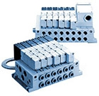 5/2, 5/3 пневмораспределитель с электропневматическим управлением VQ4000
