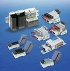 Блоки пневмораспределителей с последовательным интерфейсом управления VQ1000 VQ2000 SY3000 SY5000